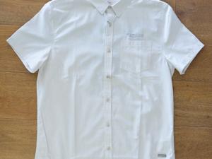 Camisa Botão Manga Curta