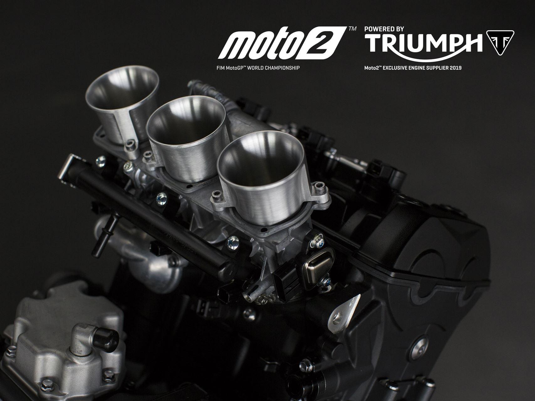 MOTOR TRIUMPH DE 765 CC BATE NOVOS RECORDES E AUMENTA EMOÇÃO NA TEMPORADA 2019 DA MOTO2