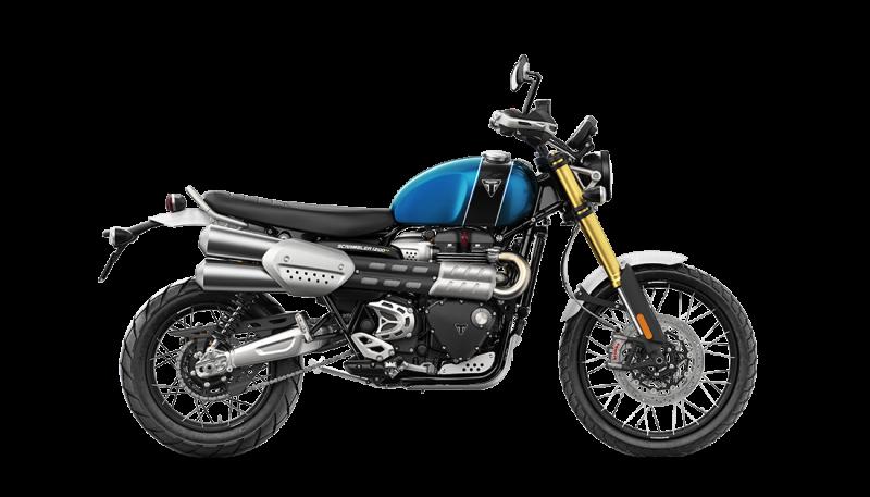 Scrambler1200XE RHS Blue Black 1100×629