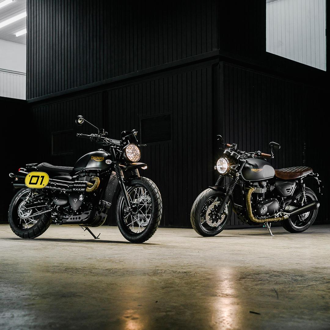 Triumph Custom Made – Edição Limitada